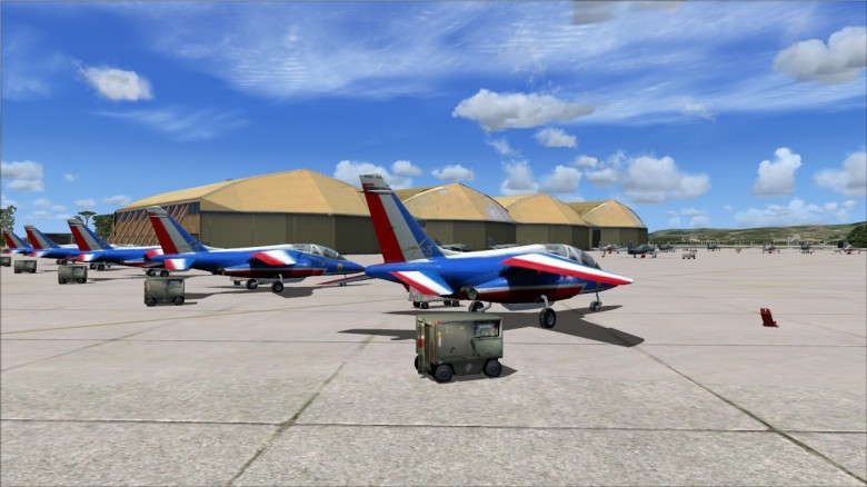 Skydesigners base 701 salon de provence simflight france - Base 701 salon de provence ...