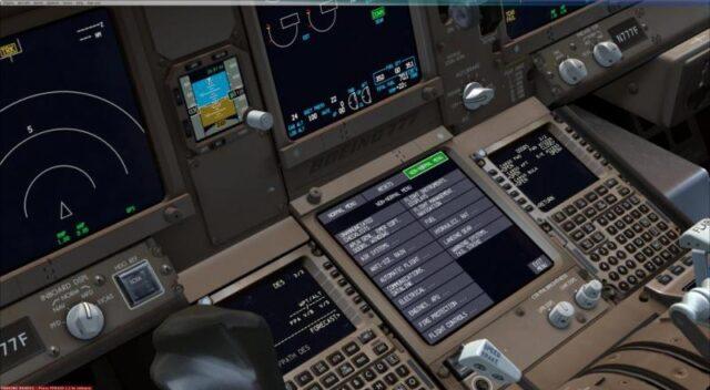 PMDG 777 electronic checklist beta preview