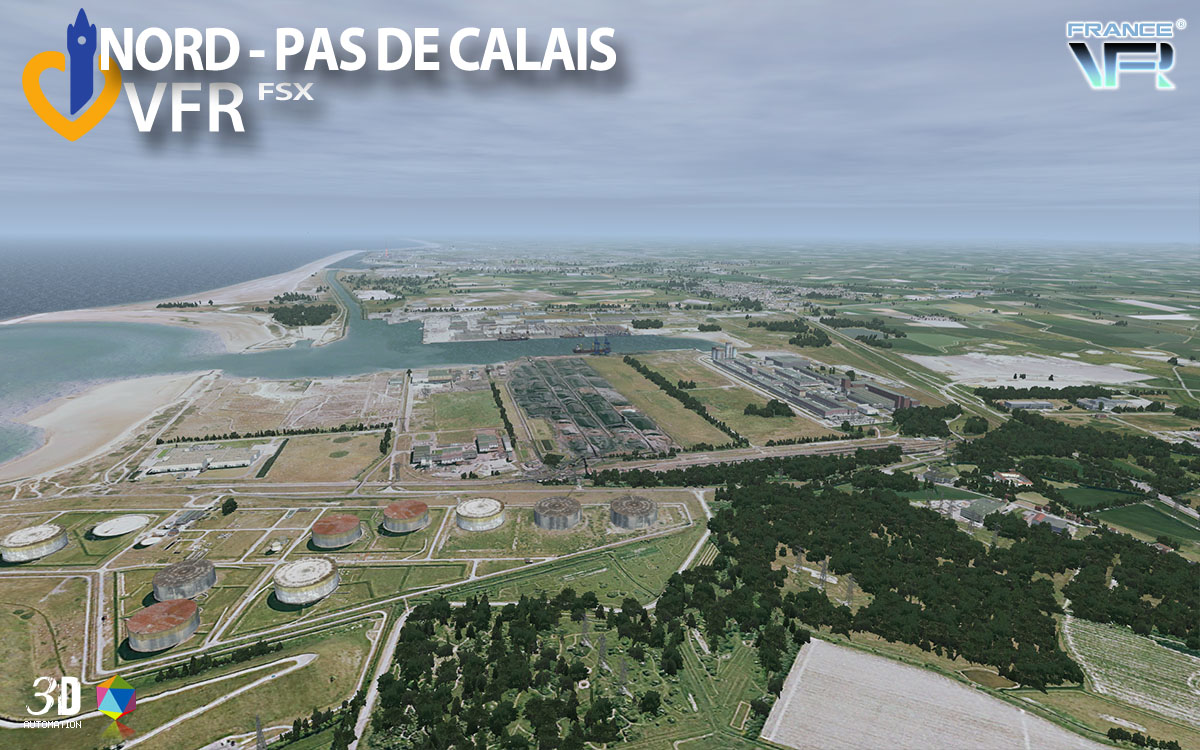 francevfr nord pas de calais vfr v2 simflight france. Black Bedroom Furniture Sets. Home Design Ideas