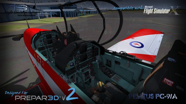 IRIS Pilatus PC-9A