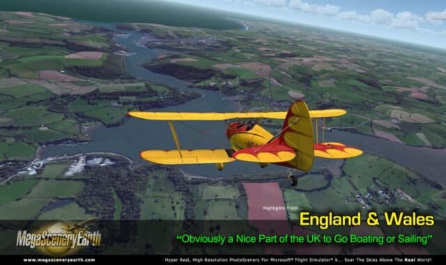MegaScenery Earth - England and Wales