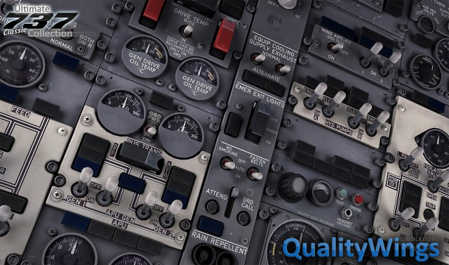 Quality Wings - Ultimate 737 Classic