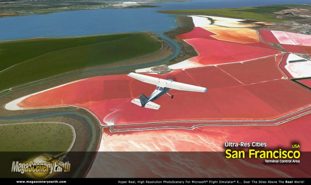 MegaScenery Earth Ultra-res City San Francisco