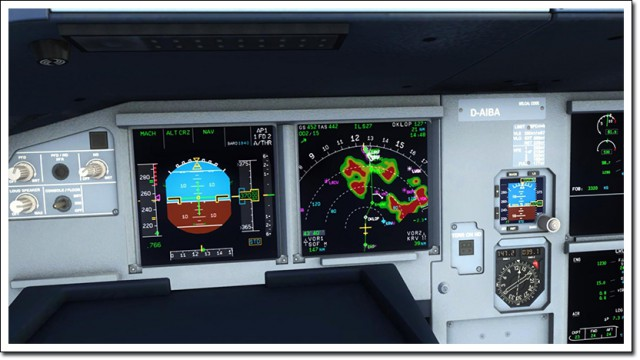 Aerosoft Airbus A318 A319 A320 A321 Wx Radar