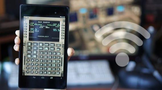 Captain-Sim-777-CDU-Android
