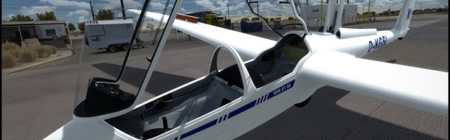 Aerosoft ASK21 glider preview