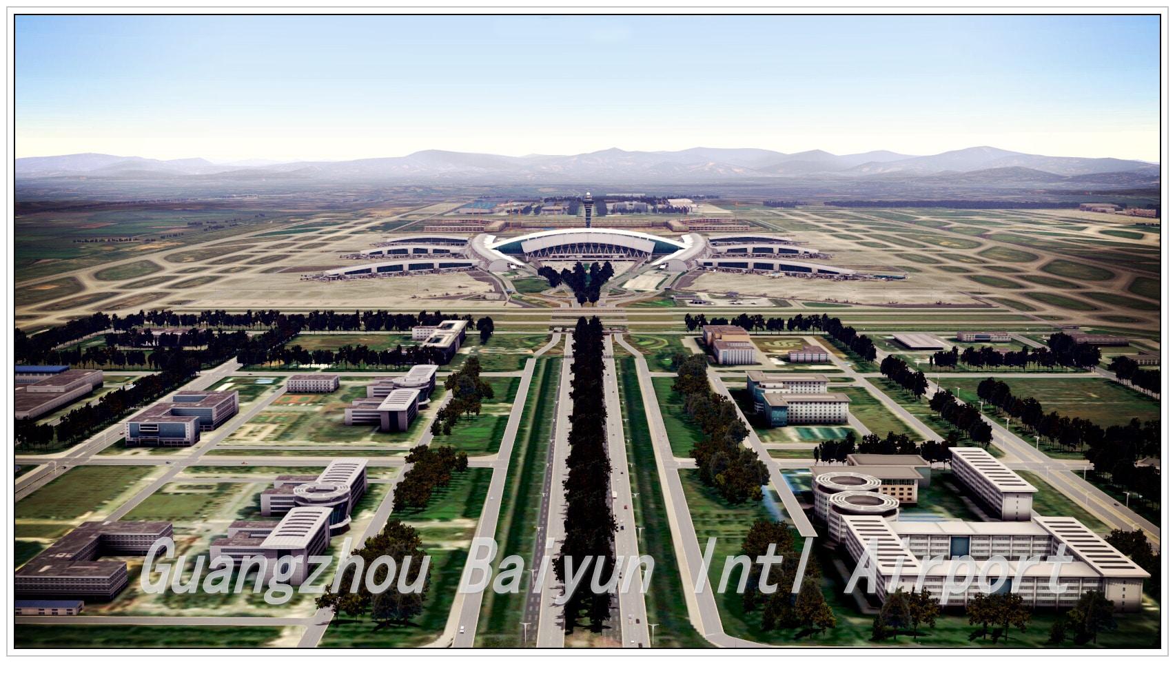 Paul studio guangzhou baiyun pour xp10 simflight france for Paul s garden studios
