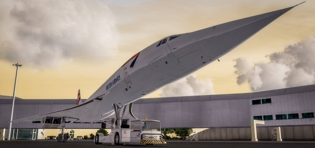 FSLabs - Concorde P3D preview