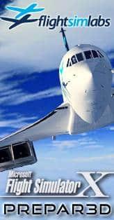 Flight Sim Labs - Concorde P3D banner