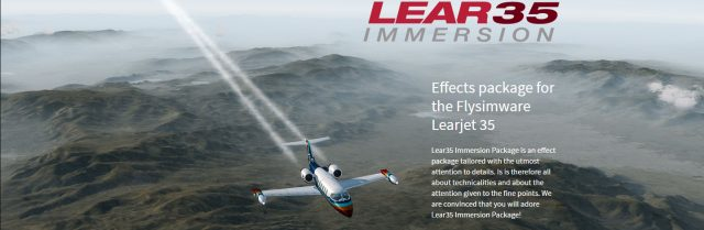 FSFX - Lear35 Immersion