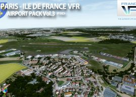 FranceVFR – Paris Île-de-France Airport Pack Vol3 P3D V5/V4
