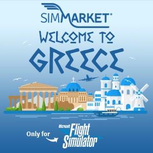 Bienvenue en Grèce avec MSFS