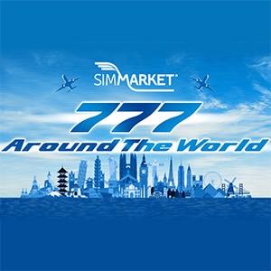 777 Autour du Monde P3D avec simMarket