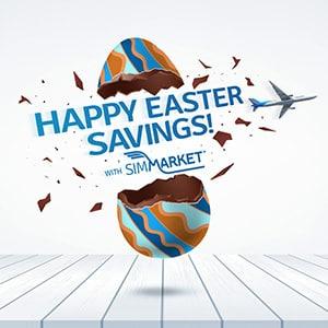 Promotions de Pâques avec simMarket