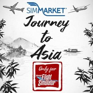Voyage en Asie MSFS chez simMarket