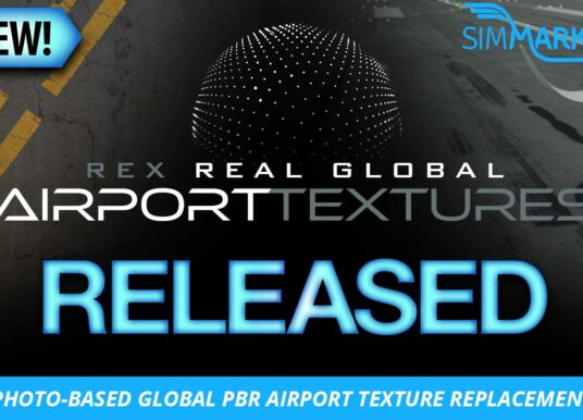 REX – Real Global Airport Textures MSFS