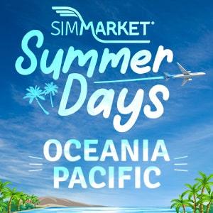 Jours d'Été simMarket - Océanie Pacifique MSFS